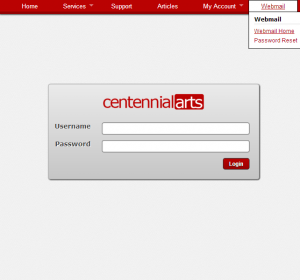 Centennial Arts Webmail    Welcome to Centennial Arts Webmail