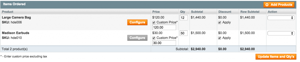 Get A Quote system with Magento - Quote Totals 2