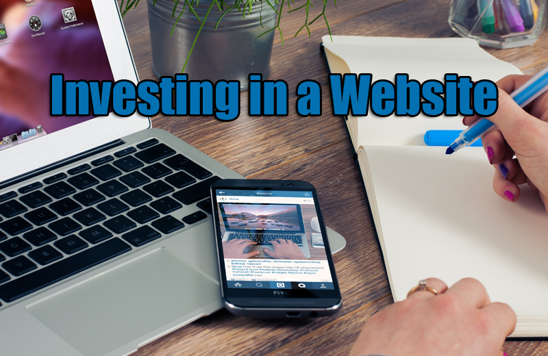 investing in a website