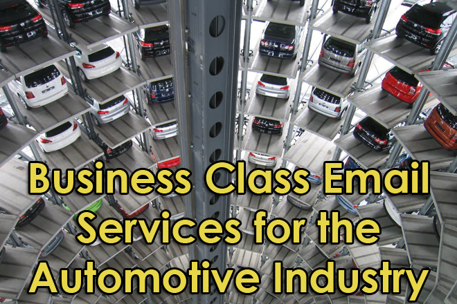 automotive industry email services